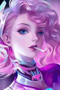 540x960 Cyber Pink Girl