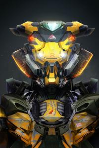320x568 Cyberdyne Systems Robot 4k