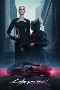 Cyberpunk 2077 2019 Poster 4k