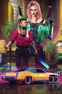 1125x2436 Cyberpunk 2077 4k 2020 New Game