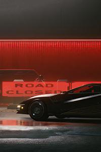 240x320 Cyberpunk 2077 4k Car
