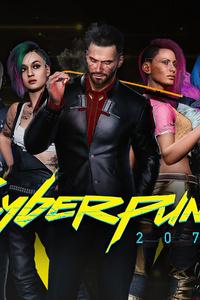 Cyberpunk 2077 4k Characters