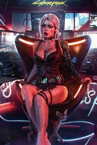 320x568 Cyberpunk 2077 4k Game
