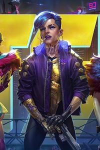 Cyberpunk 2077 4k New Character