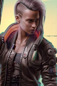 320x480 Cyberpunk 2077 Art 2020 4k