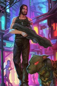 Cyberpunk 2077 Art 4k