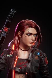 1440x2560 Cyberpunk 2077 As V