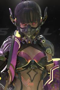 480x854 Cyberpunk 2077 Astrid