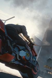 Cyberpunk 2077 Biker 4k