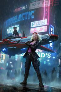 Cyberpunk 2077 City 4k