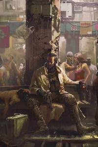 2160x3840 Cyberpunk 2077 City