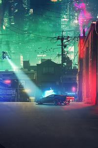 240x320 Cyberpunk 2077 Concept Art