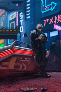 Cyberpunk 2077 Fan Art 4k