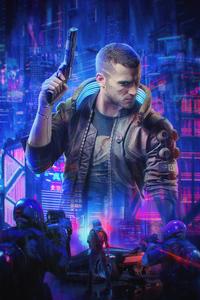 Cyberpunk 2077 Fan Poster