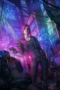 Cyberpunk 2077 Fanart 5k