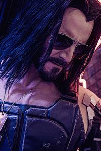 240x400 Cyberpunk 2077 Game 2020