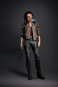 Cyberpunk 2077 Game Character 4k