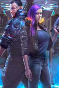 Cyberpunk 2077 Game Cosplay