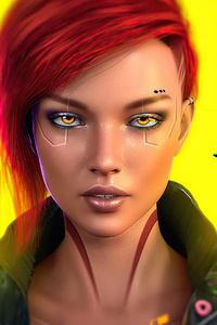 Cyberpunk 2077 Game Cover Art 4k