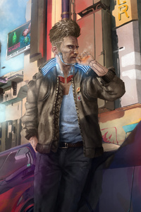 Cyberpunk 2077 Game Fan Made Artwork