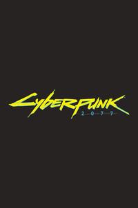 Cyberpunk 2077 Game Logo 4k