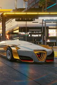 Cyberpunk 2077 Hyper Car 4k