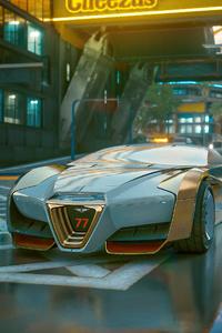 Cyberpunk 2077 Hyper Ride 4k