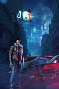 640x960 Cyberpunk 2077 In Egypt