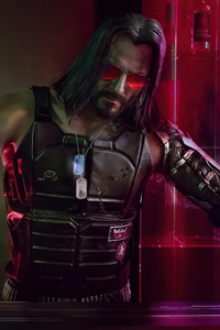 640x1136 Cyberpunk 2077 Johnny Silverhand Game