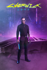1242x2688 Cyberpunk 2077 Johnny Silverhand