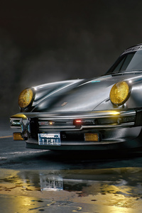 Cyberpunk 2077 Johnny Silverhands Porsche 911
