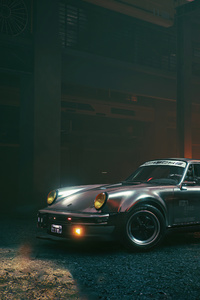 Cyberpunk 2077 Johnny Silverhands Porsche 911 Turbo 5k