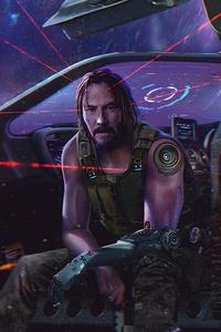 Cyberpunk 2077 Keanu Reeves 4k
