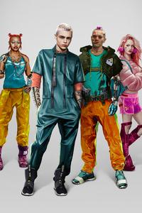 240x320 Cyberpunk 2077 Kitsch Characters