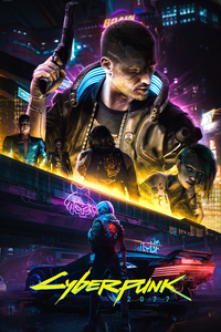 720x1280 Cyberpunk 2077 Mad Peoples 4k