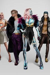 Cyberpunk 2077 Neokitsch Characters