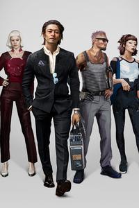 Cyberpunk 2077 Neomilitarism Characters