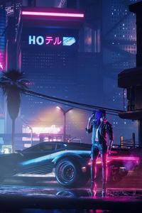 Cyberpunk 2077 Neon City 4k
