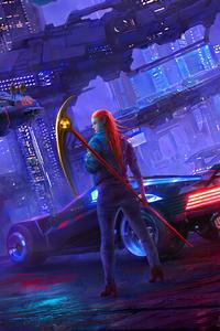 750x1334 Cyberpunk 2077 Newart