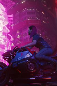 640x960 Cyberpunk 2077 Night City
