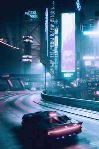 Cyberpunk 2077 Night Life 5k