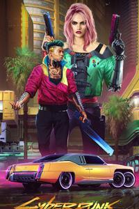 Cyberpunk 2077 Poster Art