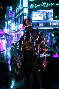 Cyberpunk 2077 Tokyo Street 4k