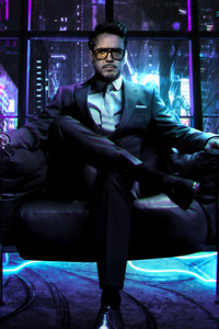 1080x1920 Cyberpunk 2077 Tony Stark