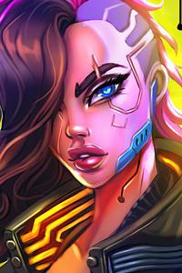 Cyberpunk 2077 V Female Character 4k