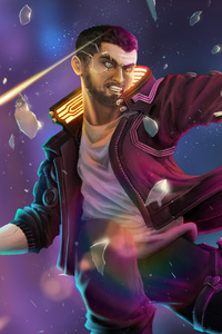 Cyberpunk 2077 V Illustration