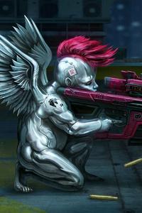 320x568 Cyberpunk 2077 Valentine Day