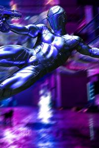 Cyberpunk 4k Fight