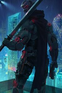 Cyberpunk Assassin 4k