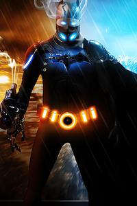 1242x2688 Cyberpunk Batman 4k